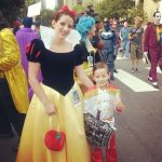 Before the Parade with my Prince Charming